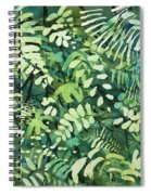 Watercolor - Rainforest Canopy Design Spiral Notebook