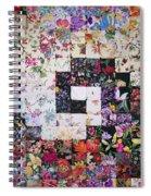 Watercolor Swirl Spiral Notebook