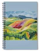 Watercolor - Wilson Mesa Landscape Impression Spiral Notebook