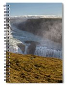 Waterfall Mist Of Iceland Spiral Notebook