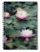 Waterlily Impressions Spiral Notebook