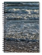 Waves Quietly Approaching Spiral Notebook