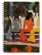 We Shall Not Go To Market Today 1892 Spiral Notebook