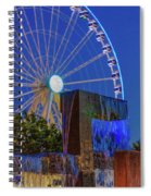 Wealthy At Waterfront Park Spiral Notebook
