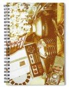 Weathered In Nostalgia Spiral Notebook