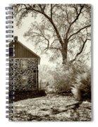 Weikert House At Gettysburg Spiral Notebook