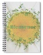 Welcome - Bienvenue Spiral Notebook