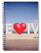 Welcome To Tel Aviv Port Spiral Notebook