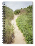 Wellfleet Sand Dunes Spiral Notebook
