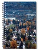 Wenatchee In November Spiral Notebook