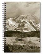 West Coast Range Tasmania Spiral Notebook