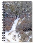 West Dakota January Prairie Spiral Notebook