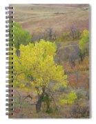 West Dakota September Splendor Spiral Notebook