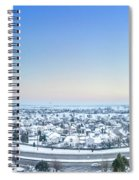 Western Lake In The Hills Spiral Notebook