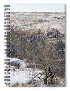 Western Edge Winter Hills Spiral Notebook