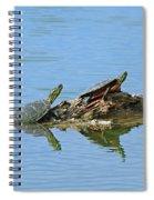 Western Painted Turtles Spiral Notebook