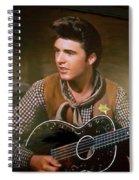 Western Ricky Nelson Spiral Notebook