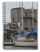 Westport Docks Spiral Notebook