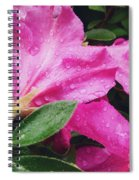 Wet Blooms Spiral Notebook