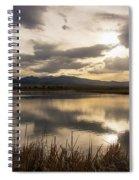 Wetlands At Dusk Spiral Notebook