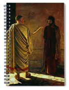 What Is Truth Christ And Pilate Spiral Notebook