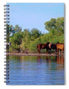 What's Egret Hunting Spiral Notebook
