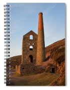 Wheal Coates Mine Chapel Porth Cornwall Spiral Notebook