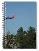 Wheels Down Spiral Notebook