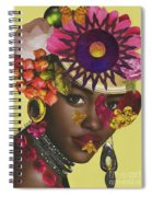 When African Eyes Are Smiling Spiral Notebook