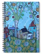 Whimsy Viilage Spiral Notebook