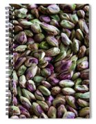 Whirling Pistachios Spiral Notebook