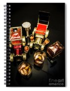 Whisky Wagons Spiral Notebook