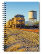 Whistle Through Red Rock Spiral Notebook