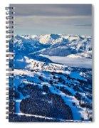 Whistler In Winter Spiral Notebook