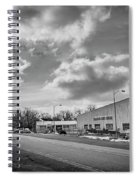 White Bear Island Marine Spiral Notebook