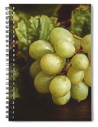 White Grapes Spiral Notebook