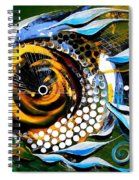 White Headed Mouth Fish Spiral Notebook