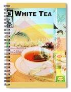 White Tea Blend  Spiral Notebook