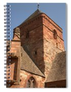 Whitekirk 12th Century Church Tower In East Lothian Spiral Notebook