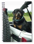 Who's A Good Boy? Spiral Notebook