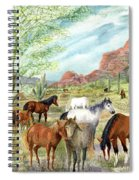 Wild And Free Forever Spiral Notebook