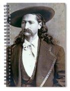 Wild Bill Hickok  1873 Spiral Notebook