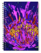 Wild Flower Spiral Notebook