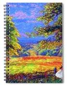 Wildflower Fields Spiral Notebook