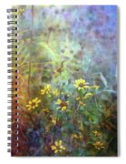 Wildflower Tangle 5694 Idp_2 Spiral Notebook