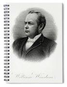 William Windom Spiral Notebook