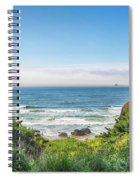 Wind And Waves Spiral Notebook