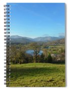 Windermere With Loughrigg Fell And The Langdales From Ambleside Spiral Notebook