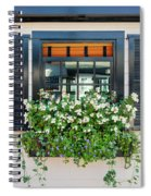 Window Full Of Flowers Spiral Notebook