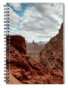 Window On The Desert Spiral Notebook
